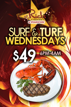 Weekly - Wednesdays - Surf & Turf Wednesdays
