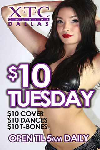 Weekly - Tuesdays - $10 Tuesdays - $10 Tuesdays