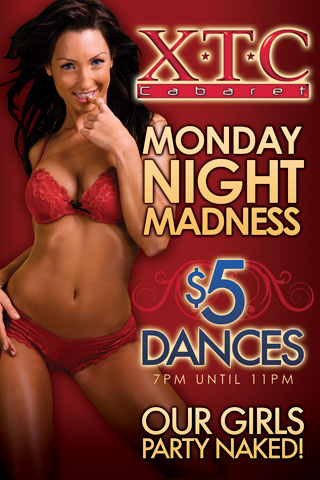 Weekly - Mondays - Monday Night Madness - Monday Night Madness