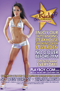Enjoy our outstanding Steakhouse, Smoking Deck, & Garden. No cover before 7PM. Open until 4AM everday.