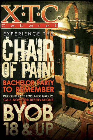 Chair of Pain - Experience the Chair of Pain, Bachelor Party to remember! Discount rates for large groups!
