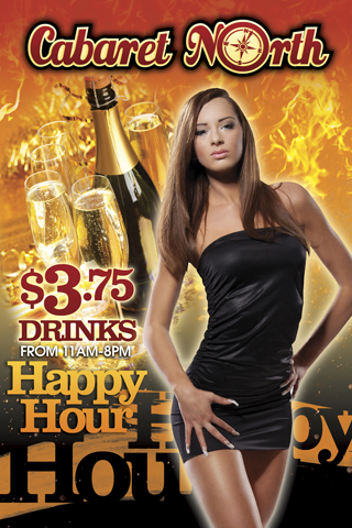 Happy Hour until 11a-8pm daily