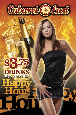 Happy Hour until 11a-8pm