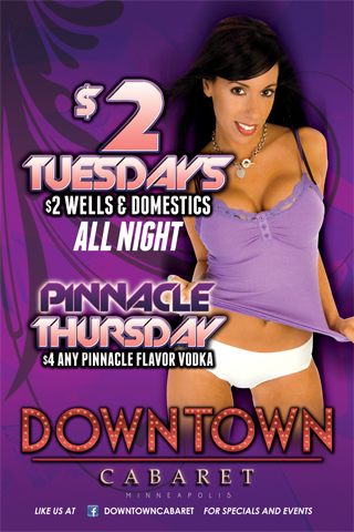 Weekly - Tuesdays - $2 Tuesdays