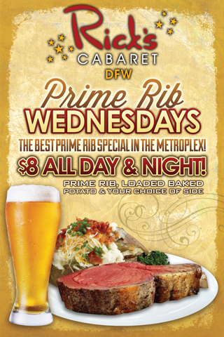 Weekly - Wednesdays - Prime Rib