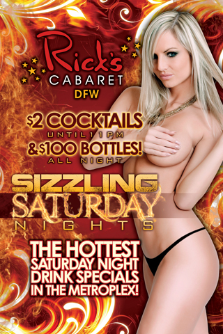 Weekly - Saturdays - Sizzling Saturday Nights