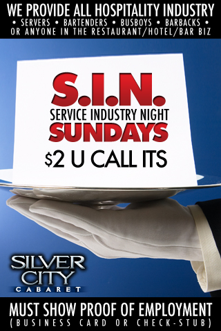 Weekly - Sundays - SIN Sundays