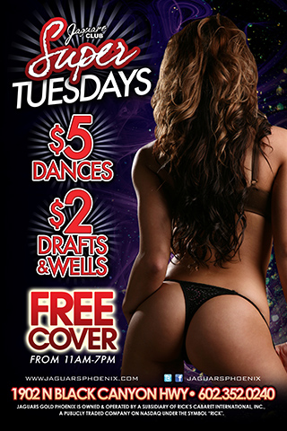Super Tuesday - $5 dances 