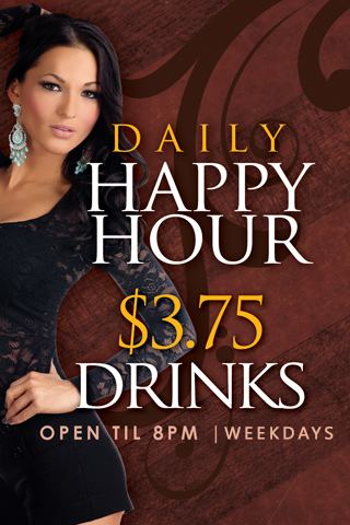 Daily - Happy Hour