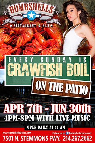 Crawfish on the Patio