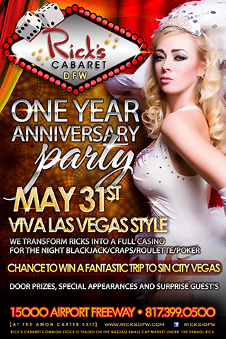 1 YEAR ANNIVERSARY PARTY-VIVA LAS VEGAS STYLE