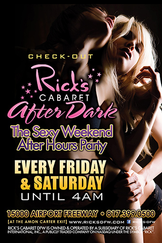 Saturdays - Ricks After Dark