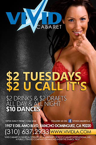 $2 Tuesdays - $2 drinks and $2 drafts all day and all night.