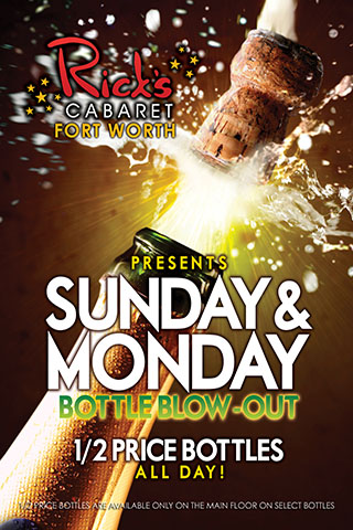 Sunday Bottle Blowout