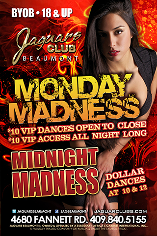 Monday Night Madness - BYOB
