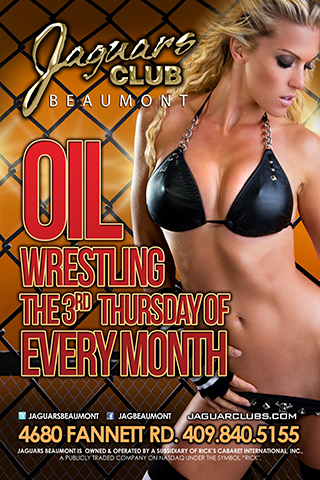 Oil Wrestling - Oil Wrestling - On the 3rd Thursday of the month.