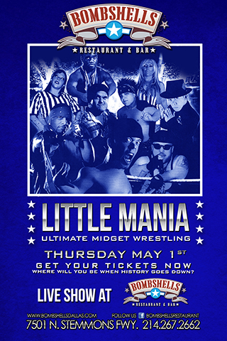 Little Mania - Ultimate Midget Wrestling