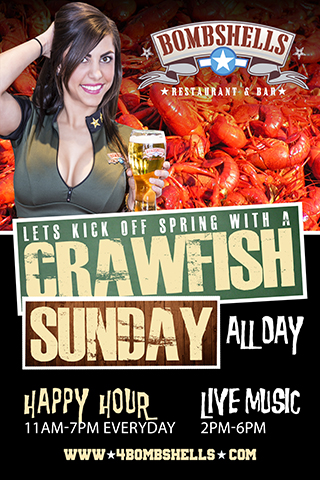 Crawfish Sundays-All Day