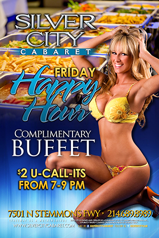 Friday Happy Hour Buffet