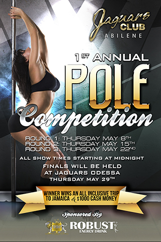 Pole Dancing Competition - JAGUARS FIRST ANNUAL POLE-DANCING COMPETITION 