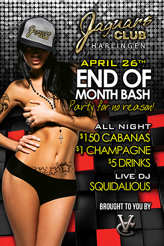 A Party for No Reason - End of Month Bash