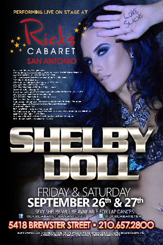 Featured Entertainer - Shelby Doll