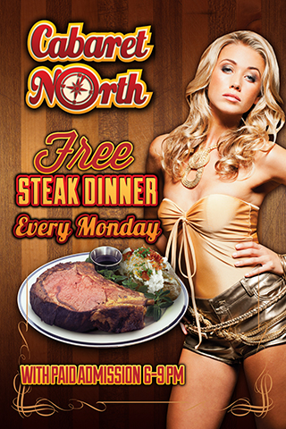 Free Steak Mondays
