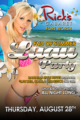 End of Summer Luau Party