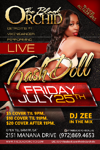 Kashdoll Live at The Black Orchid - Kashdoll