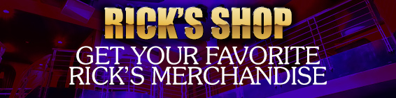 Check out the Rick's Cabaret gear in our online store.